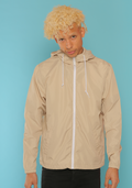 KHAKI LIGHTWEIGHT WINDBREAKER JACKET