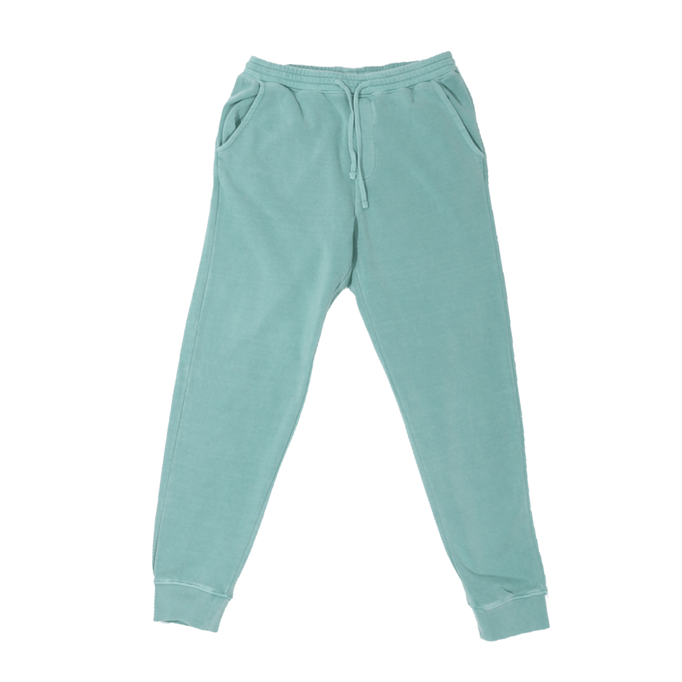 Vintage-Dyed Hooded Pants