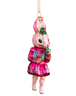 Load image into Gallery viewer, Nathalie Lété Woodland Rabbit Ornament