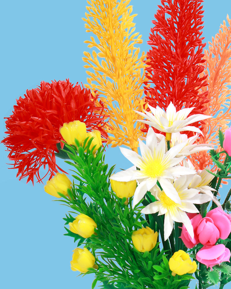 Load image into Gallery viewer, Plastic Flower Bouquet