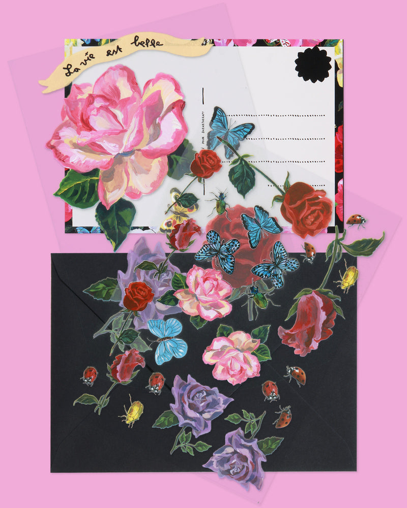 Load image into Gallery viewer, Nathalie Lété Transfer Set, Garden of Flowers
