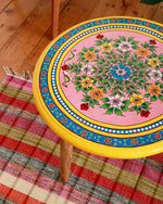 Hand-Painted Paradise Table
