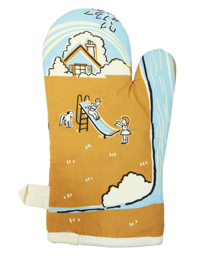I Love My Asshole Kids Oven Mitt