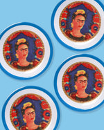 Frida Melamine Plate, Set of 4
