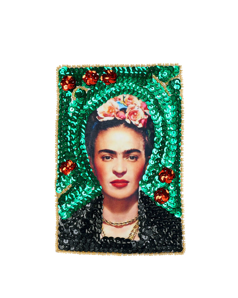 Frida Kahlo Sequin Patch