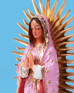 Guadalupe Statuette, Pink