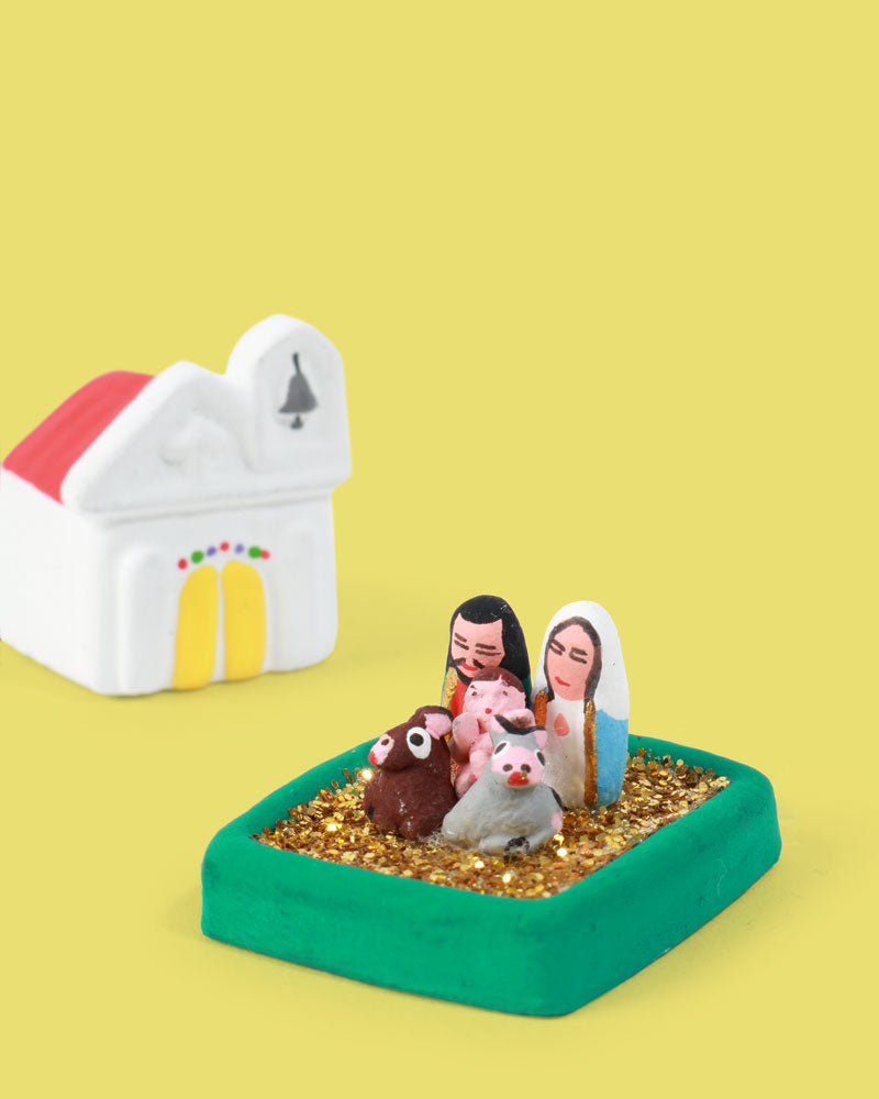 Mini Nativity Church