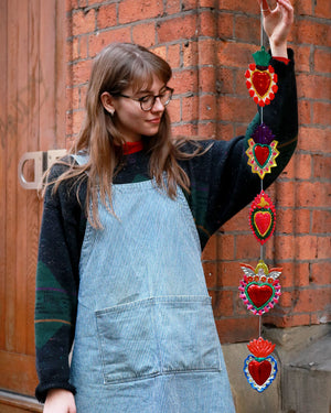 Load image into Gallery viewer, La Guirnalda Heart Garland