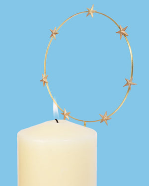 Load image into Gallery viewer, Etoile Candle Halo, Gold