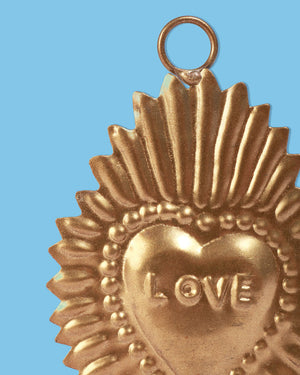 Ex-Voto Love Heart, Gold