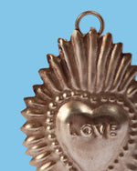 Ex-Voto Love Heart, Silver