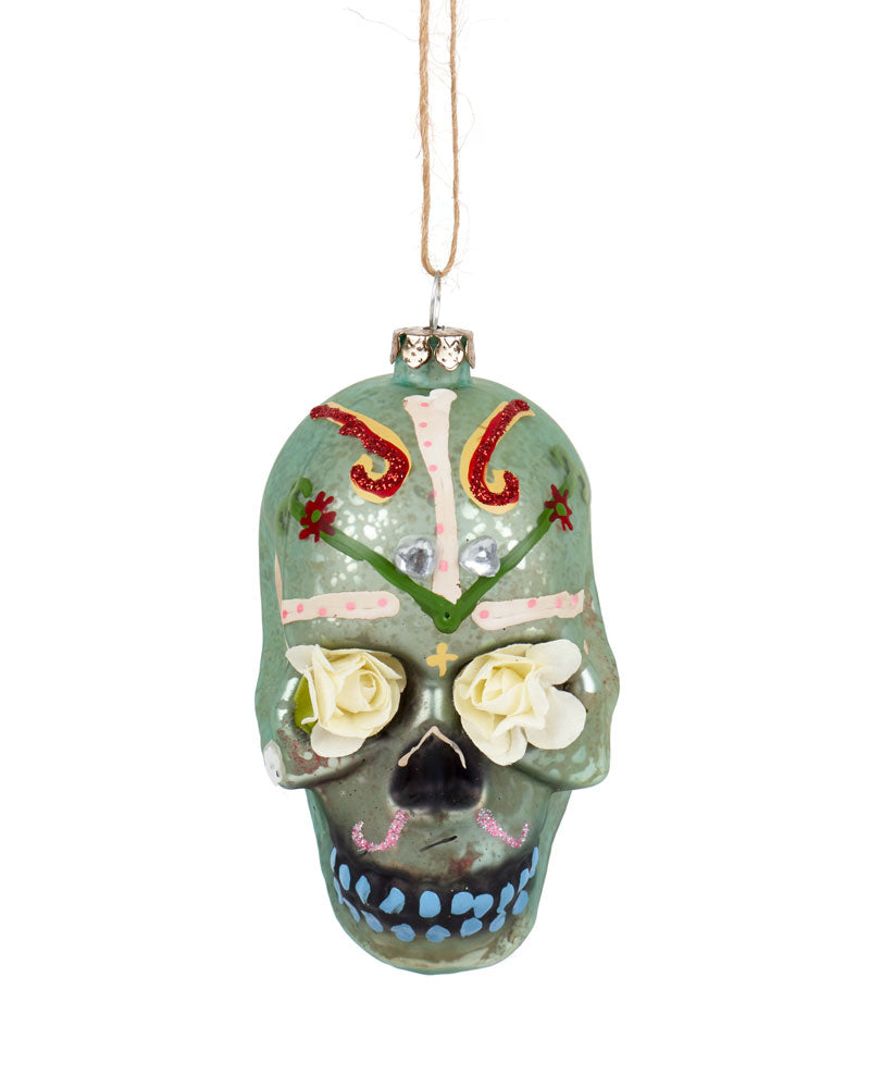 Cody Foster Day of the Dead Flower Skull, Mint