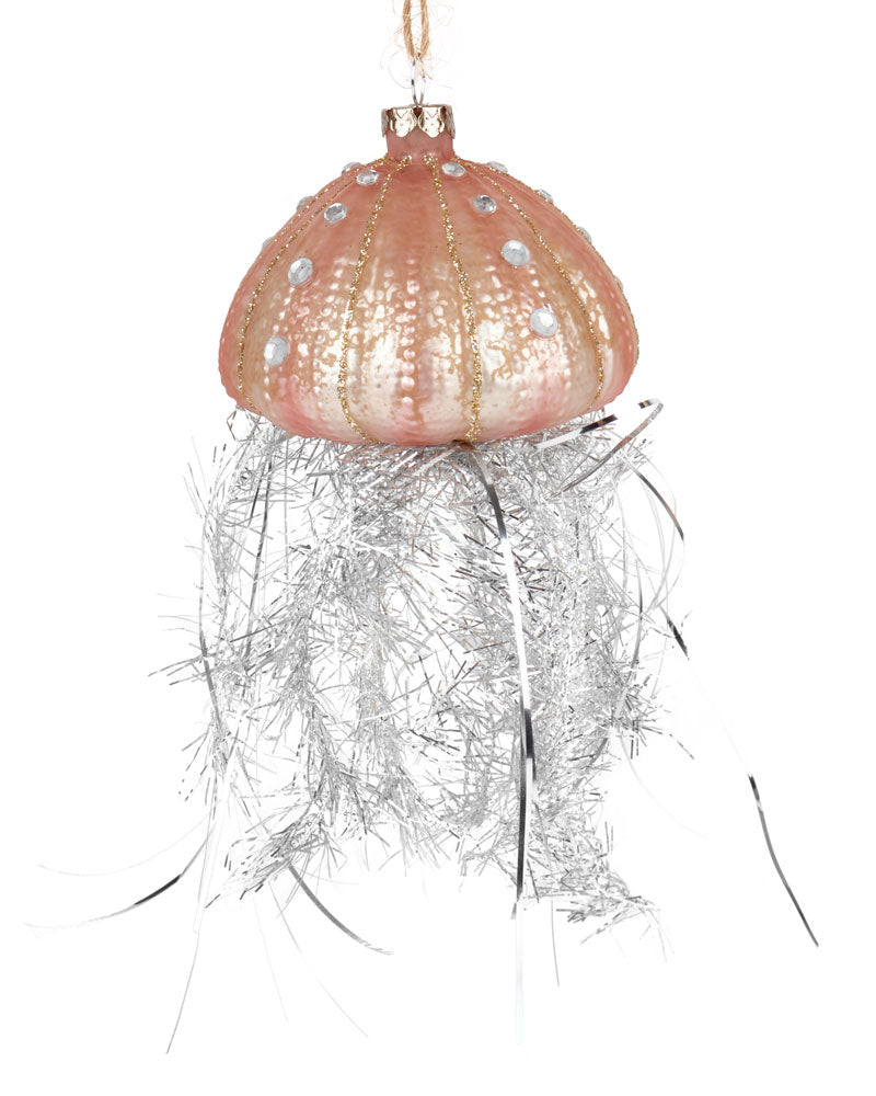 Cody Foster Tinsel Jellyfish Ornament