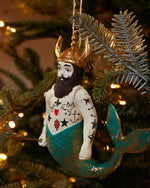 Cody Foster Poseidon Merman Ornament