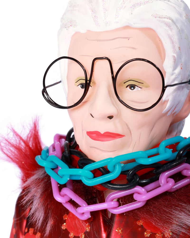 Load image into Gallery viewer, Iris Apfel Ornament