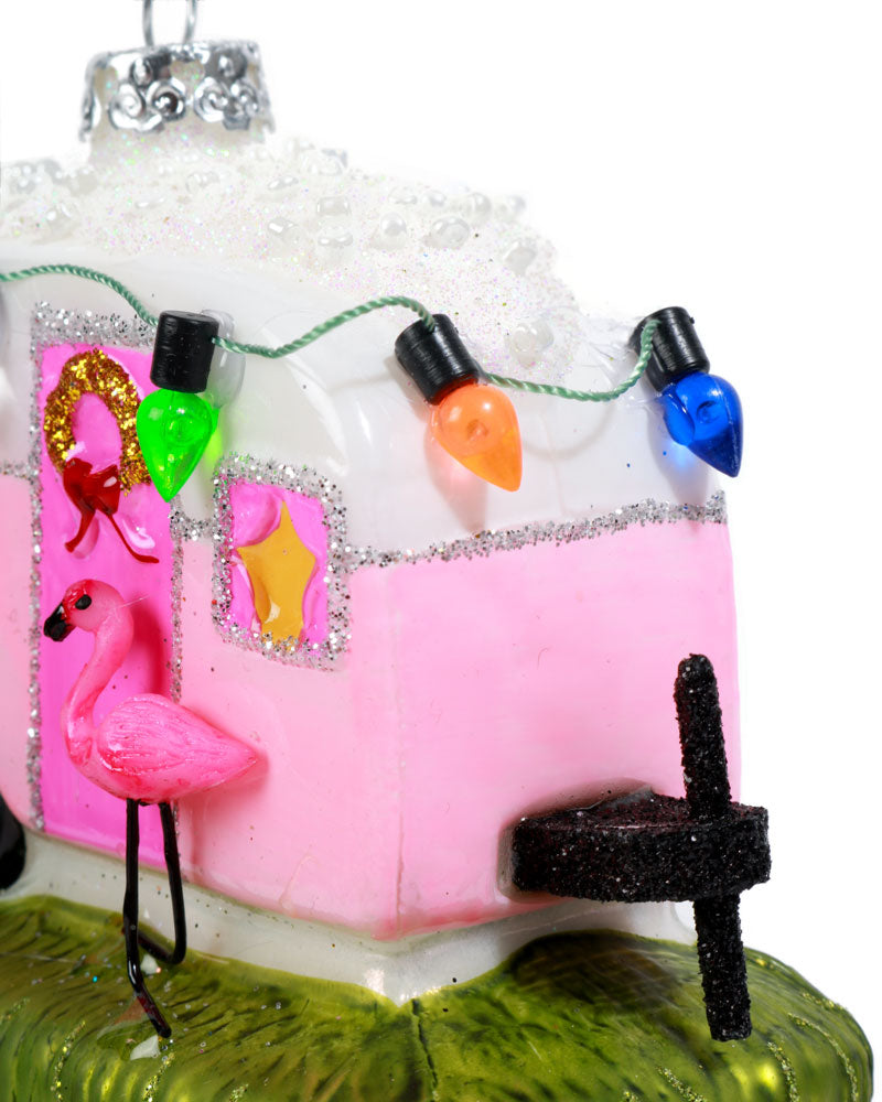 Load image into Gallery viewer, Cody Foster Flamingo Camper Decoration