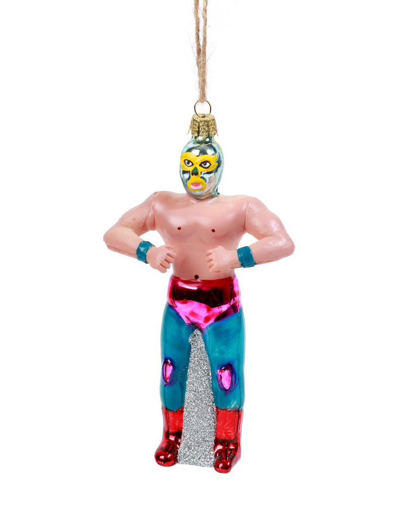 Load image into Gallery viewer, Glass Luche Libre Ornament