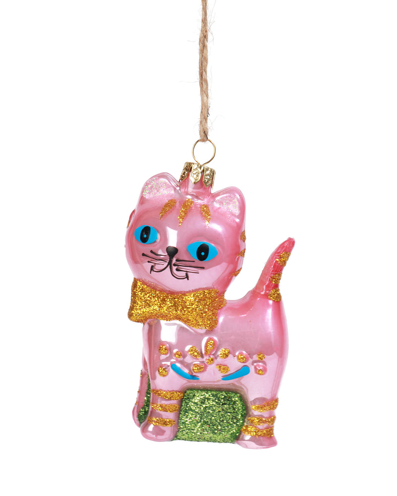 Retro Cat Ornament