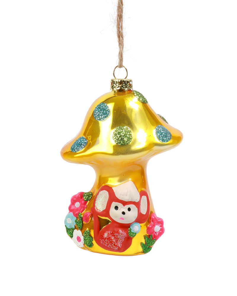 Cody Foster Retro Mouse With Mushroom Ornament
