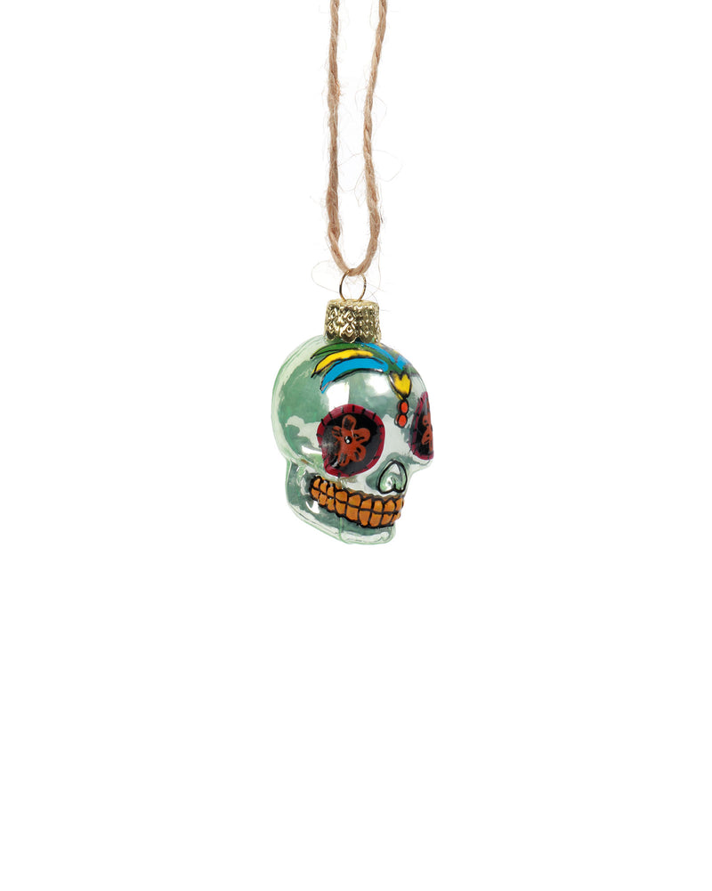 Load image into Gallery viewer, Dia De Los Muertos Skull, Set of 4