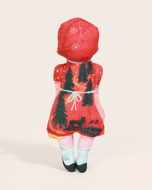 Load image into Gallery viewer, Nathalie Lété Little Red Doll