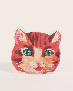 Nathalie Lété Orange Cat Cushion