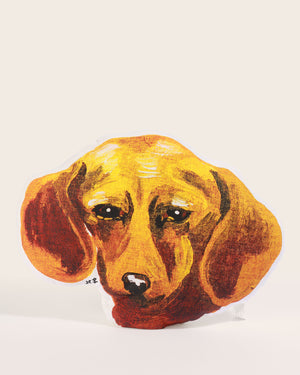 Nathalie Lété Sausage Dog Cushion