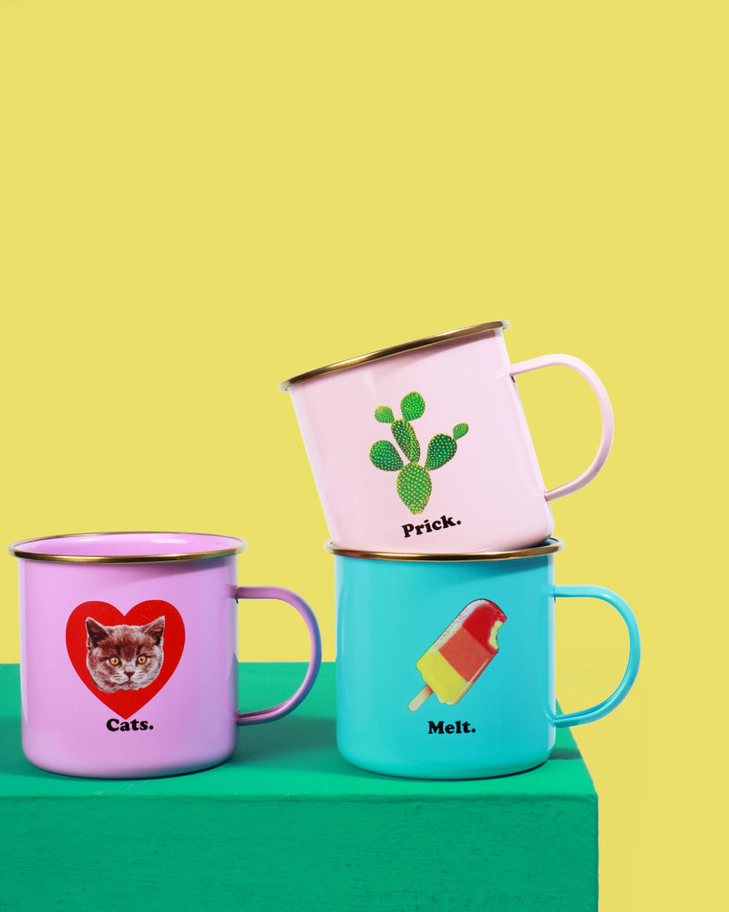 Load image into Gallery viewer, Prick Enamel Mug