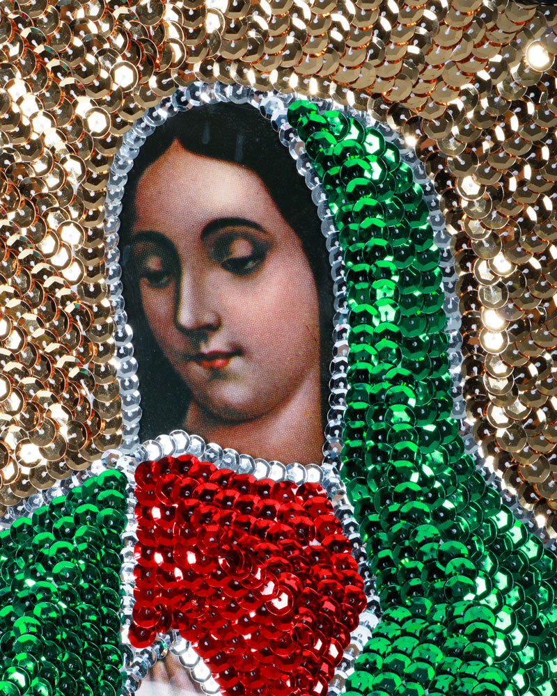 Very Big Guadalupe Sequin Patch