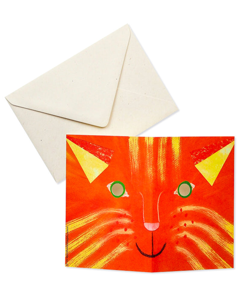 Cat Mask Card