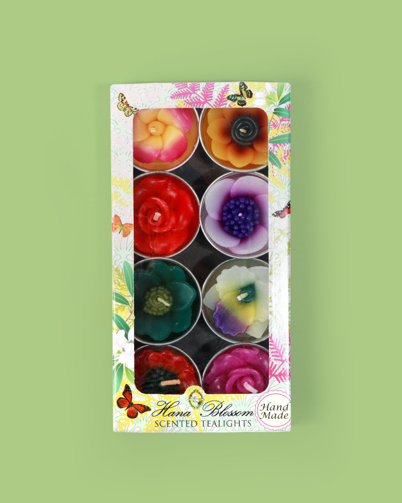 Scented Tropical Flower Tealights