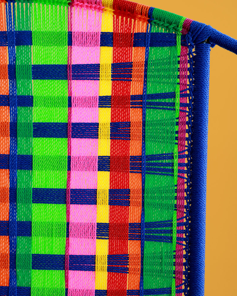 Kente Chair, Blue