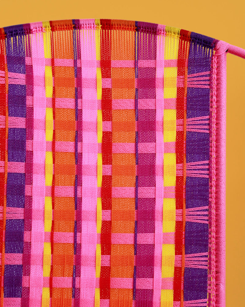 Kente Chair, Pink