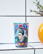 Kitsch Kitchen Frida Kahlo Portrait Candle