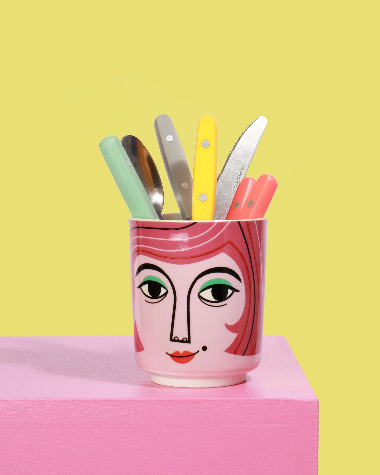 Rude Mr And Mrs Questions: Mrs Peterson Ceramic Jar