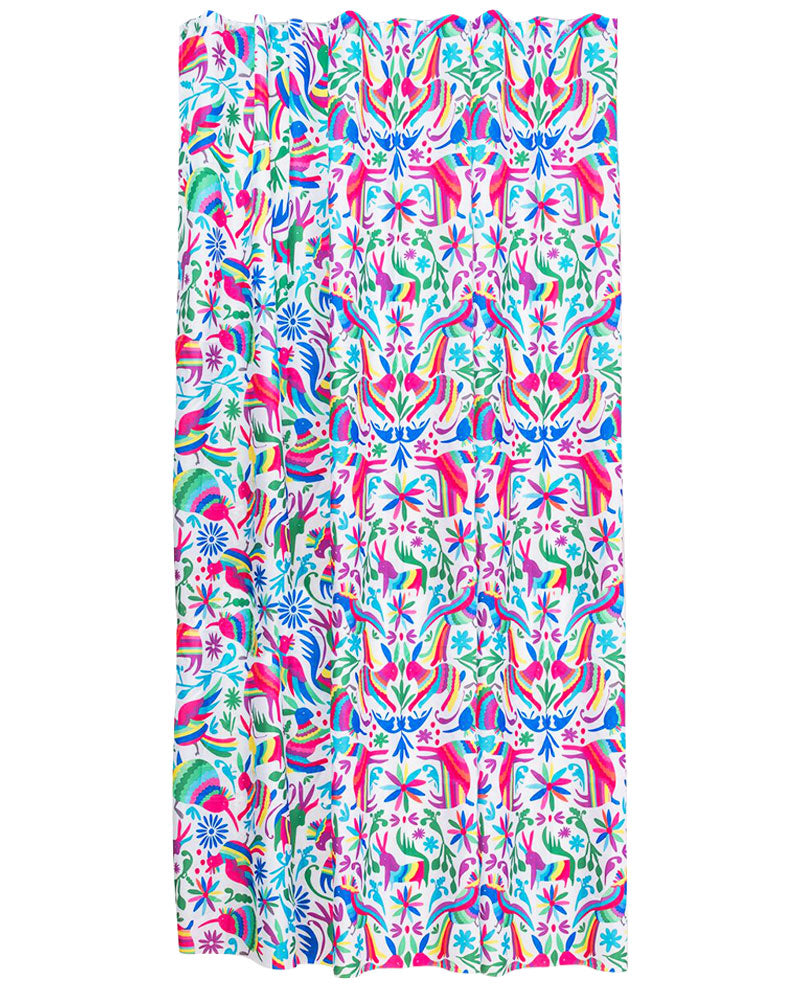 Kitsch Kitchen Otomi Shower Curtain