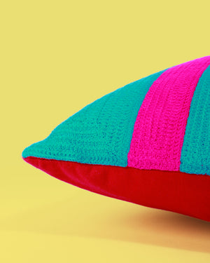 Load image into Gallery viewer, Tulum Stripe Cushion