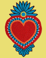 Milagro Heart Coaster, Red