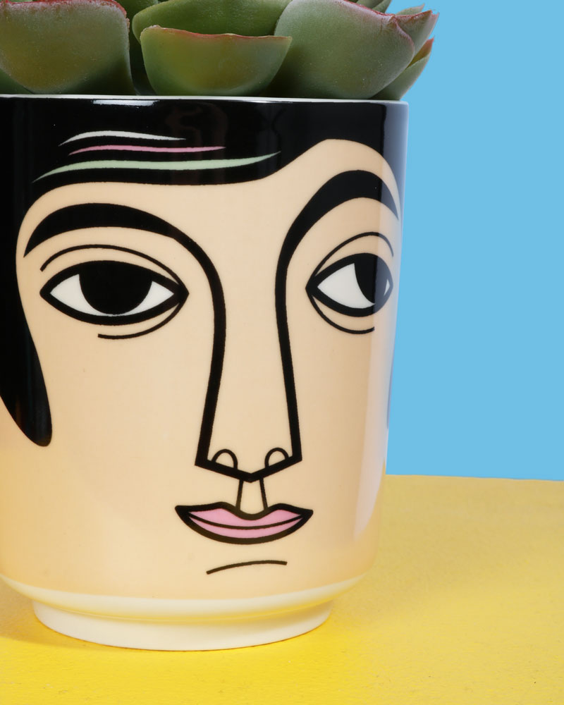 Load image into Gallery viewer, Mr Carson Ceramic Jar