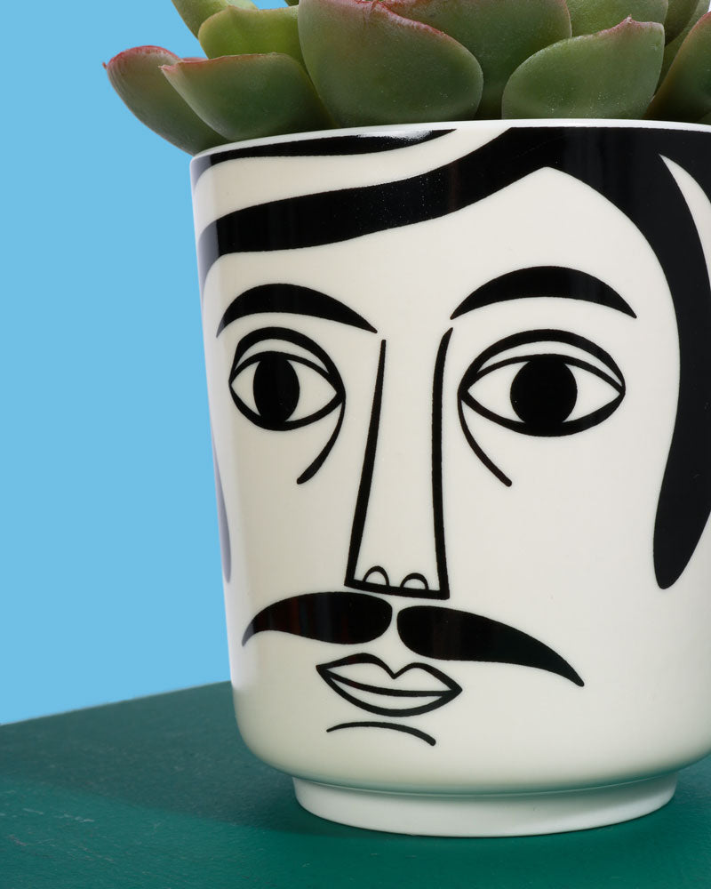 Mr Hamilton Ceramic Jar