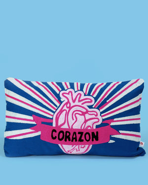 Load image into Gallery viewer, Corazon Cushion, Blue
