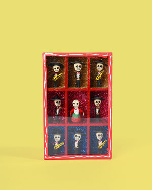 Load image into Gallery viewer, Mariachi  Retablo, Red