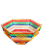 Kitsch Kitchen Multicolour Wire Basket, Deep