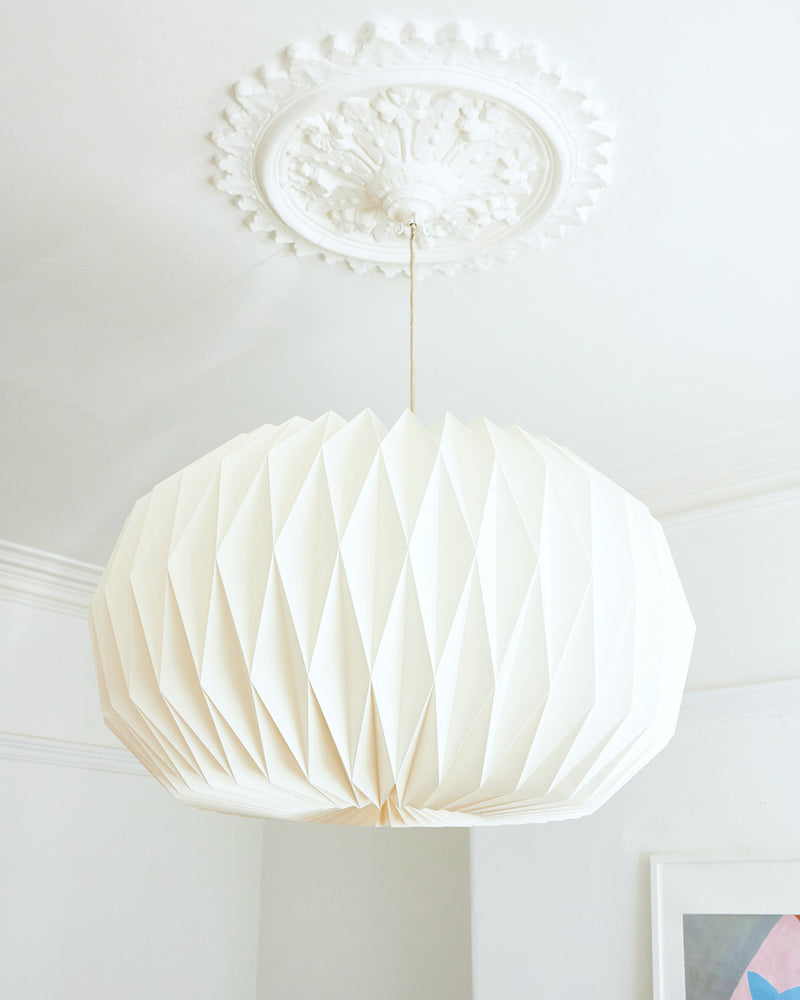 Natural Paper Lampshade, Large