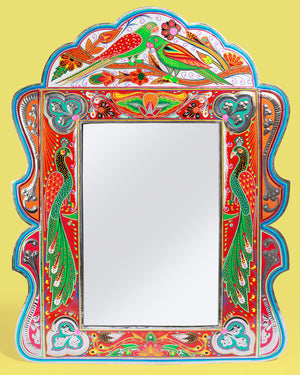 Load image into Gallery viewer, Handcrafted Truck Art Mirror