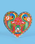 Truck Art Wall Plaque, Heart
