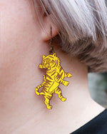Guardian Tiger Earrings