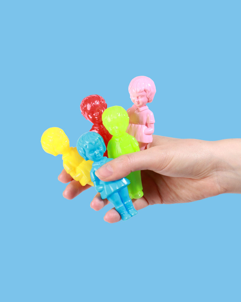 Load image into Gallery viewer, Mini Plastic Doll, Set of 10