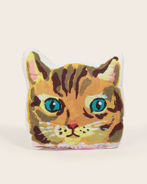 Load image into Gallery viewer, Nathalie Lété Cat Cushion