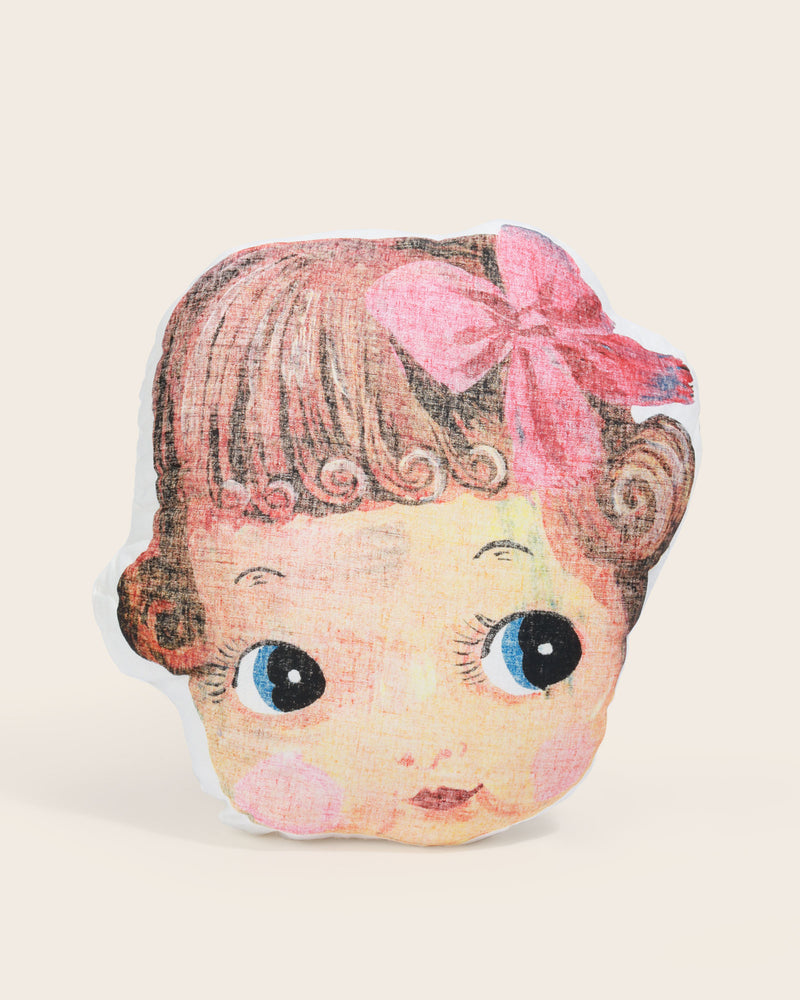 Nathalie Lété Doll Face Cushion
